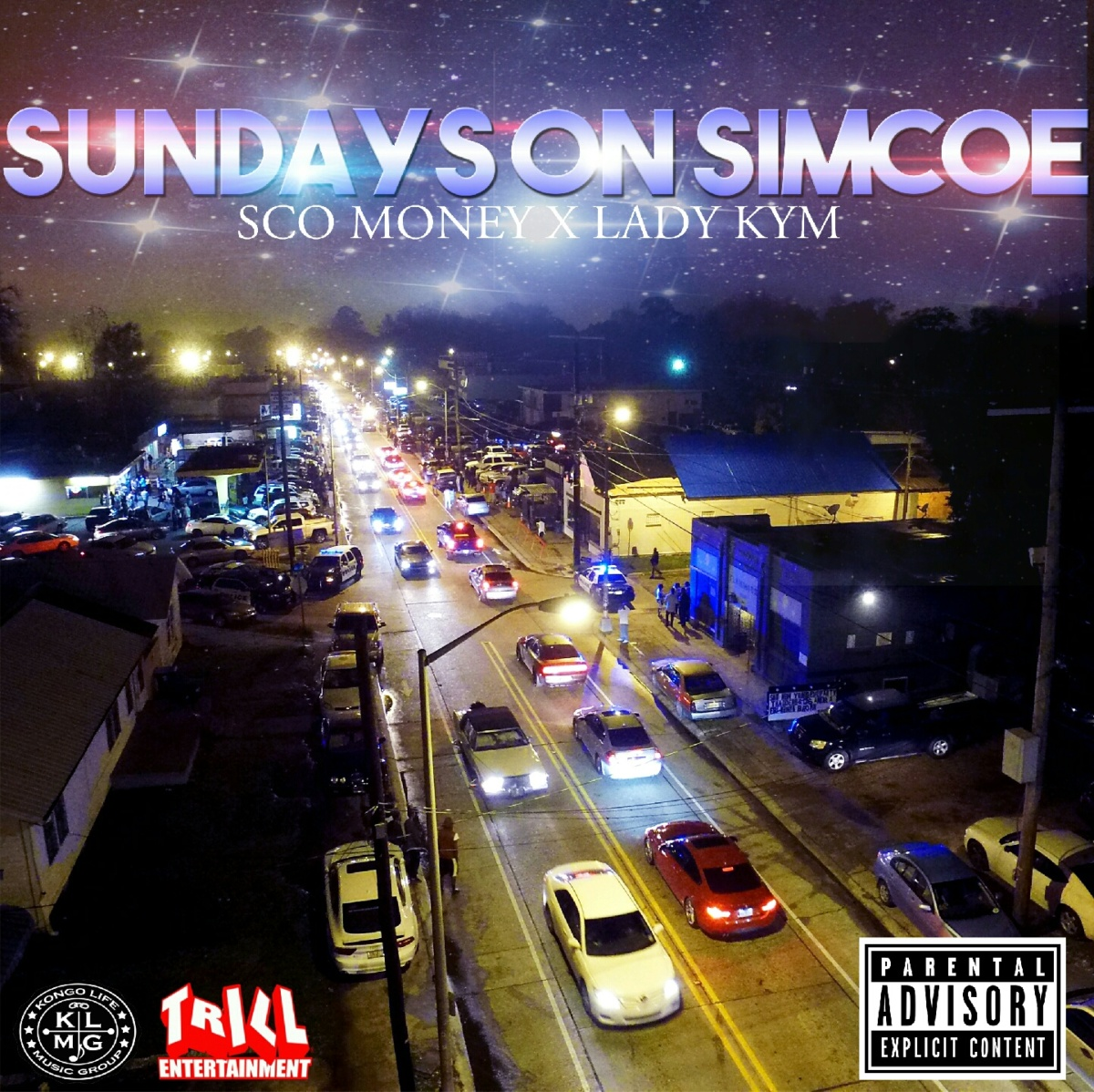 "Louisiana's Sco Money links with Lady Kym for ""Sunday's On Simcoe"""
